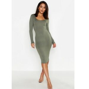 NWT ASOS   Long Sleeve Bodycon Dress